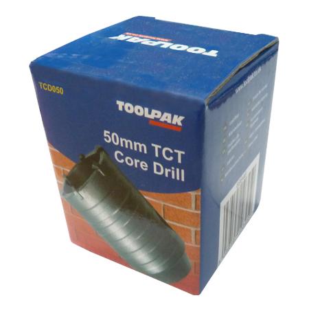 Toolpak 50mm Tct Core Drill Tcd050